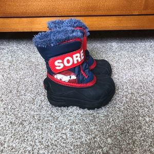 Toddler Sorel Snow Commander Boots Size 6